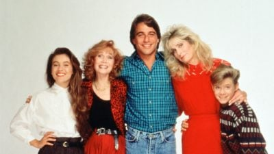 The cast of Who's the boss?