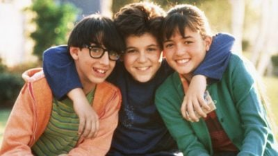 The main cast members from the Wonder Years