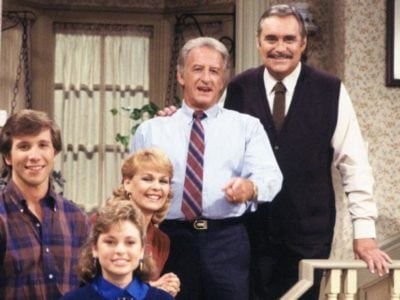 Some of the cast of Mr Belvedere