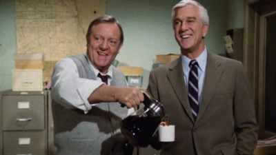 The cast of Police Squad