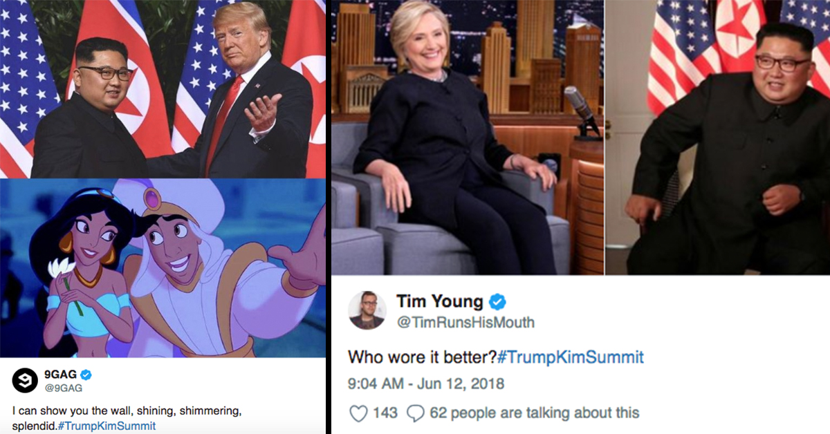 The Best Reactions From The Trump and Kim Summit