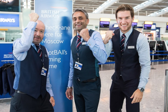 British Airways Handing Out Free Waistcoats To Passengers Flying To Moscow