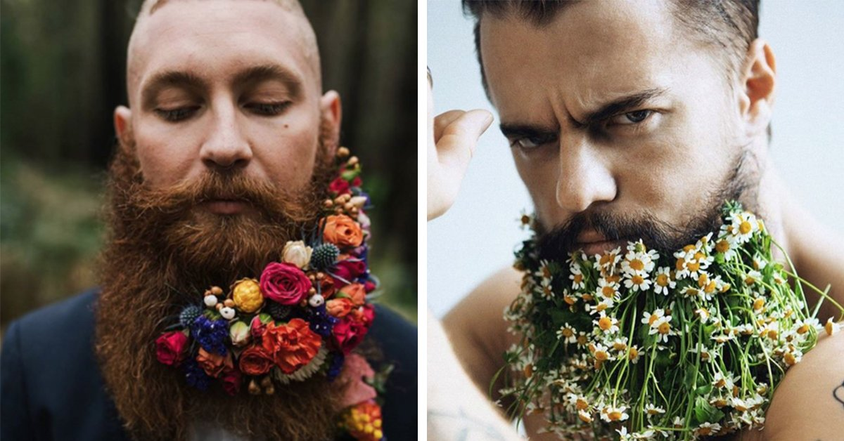 15 Of The Best #FlowerBeards Instagram Has To Offer