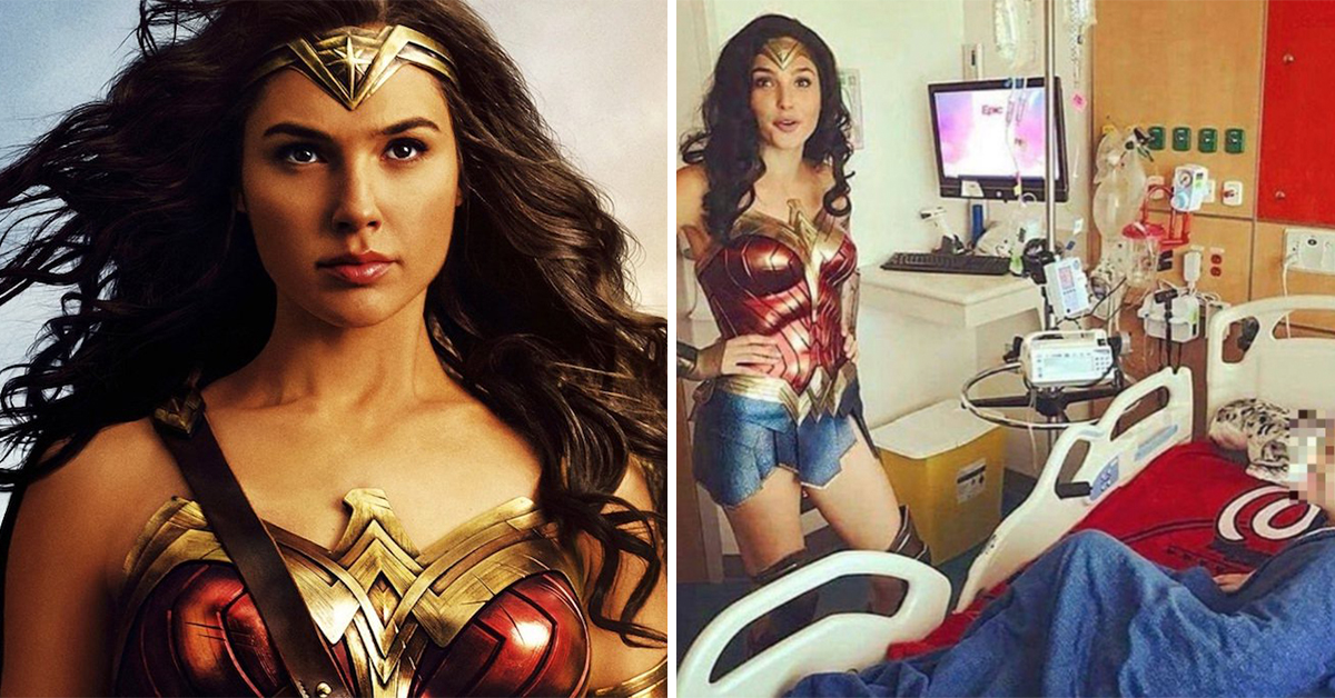 Gal Gadot Proves She Really Is Wonder Woman After Visit To Children's Hospital