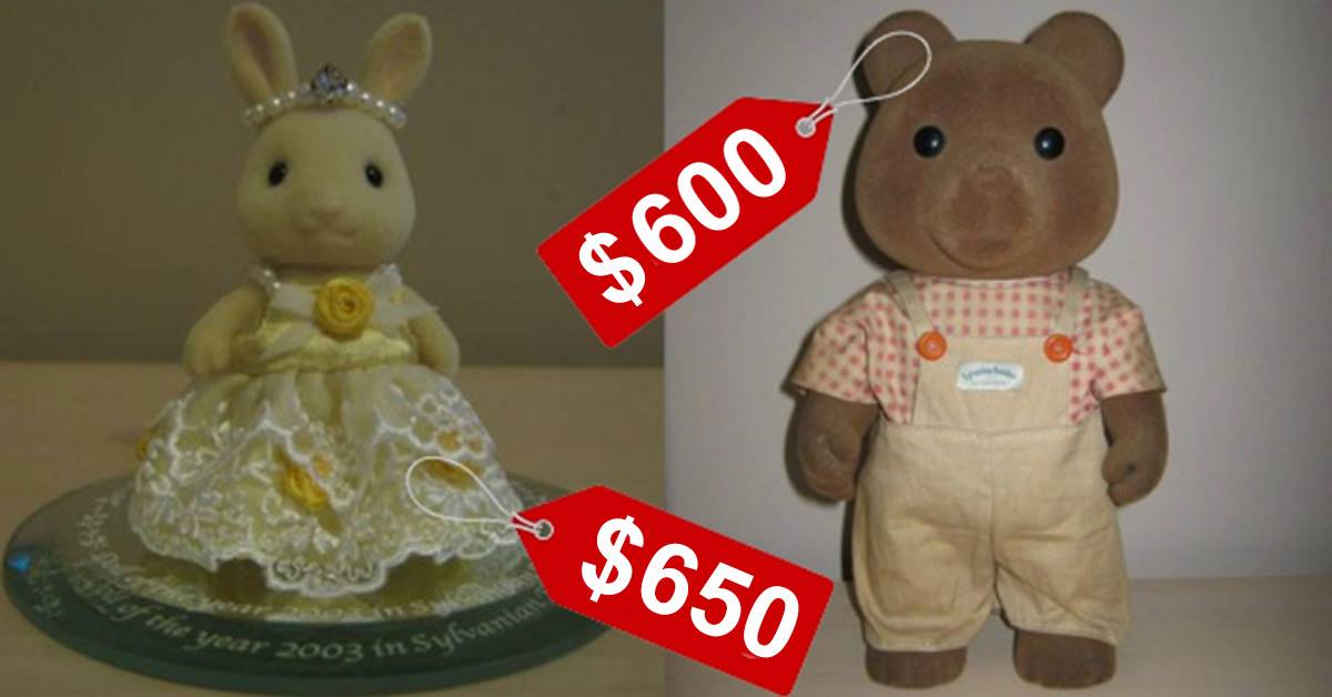 Sylvanian Families Toys Could Fetch You Up To $650