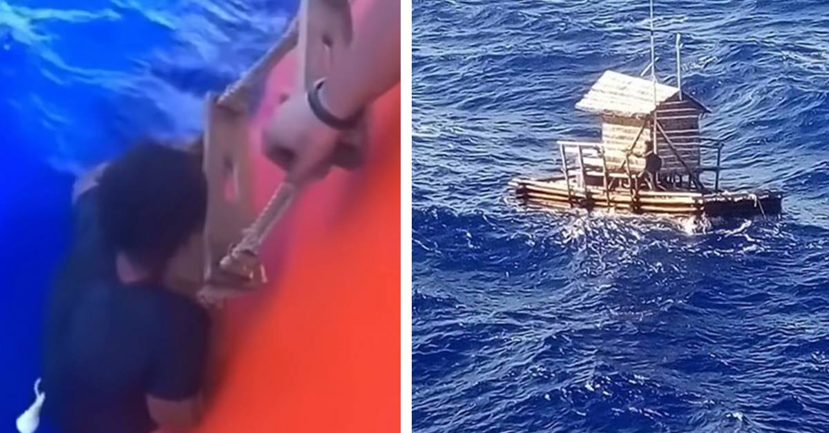 Teenager Manages To Survive 49 Days Alone In the Middle Of The Ocean In A Fishing Hut