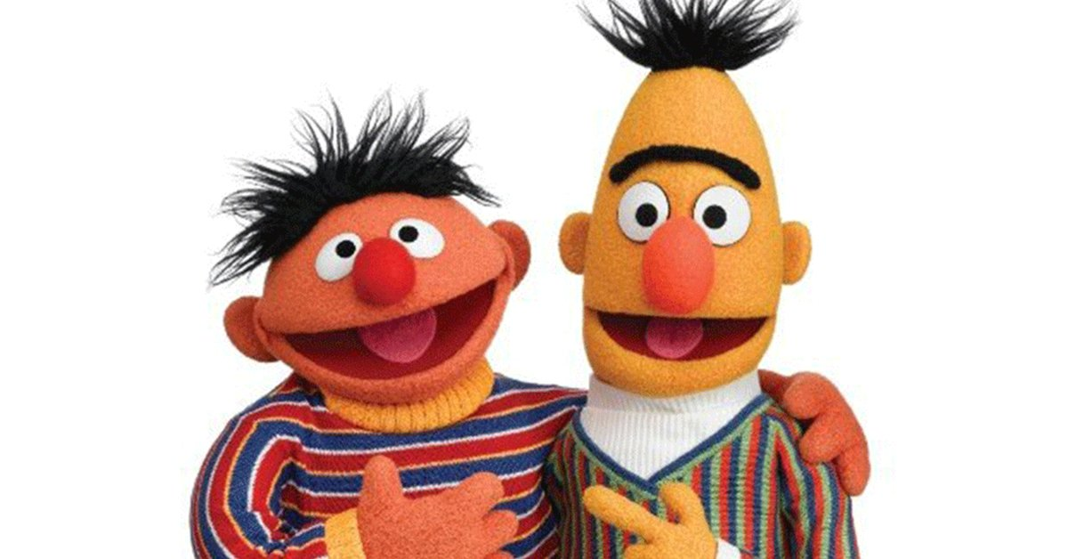 Sesame Street Writer FINALLY Confirms That Bert And Ernie Are, In Fact, A Gay Couple