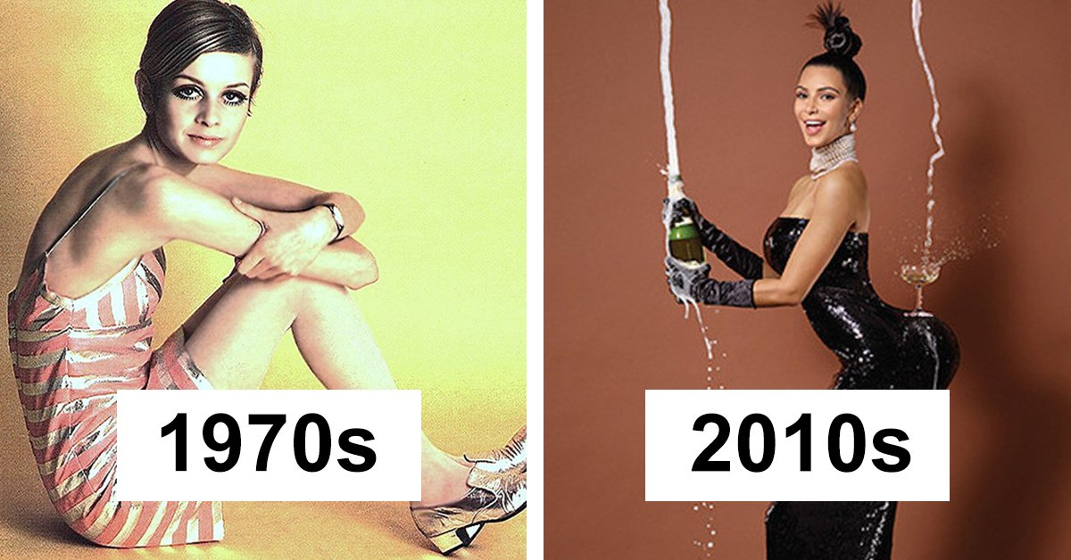 "The Amazing 100-Year Transformation Of The ""Perfect"" Female Body"
