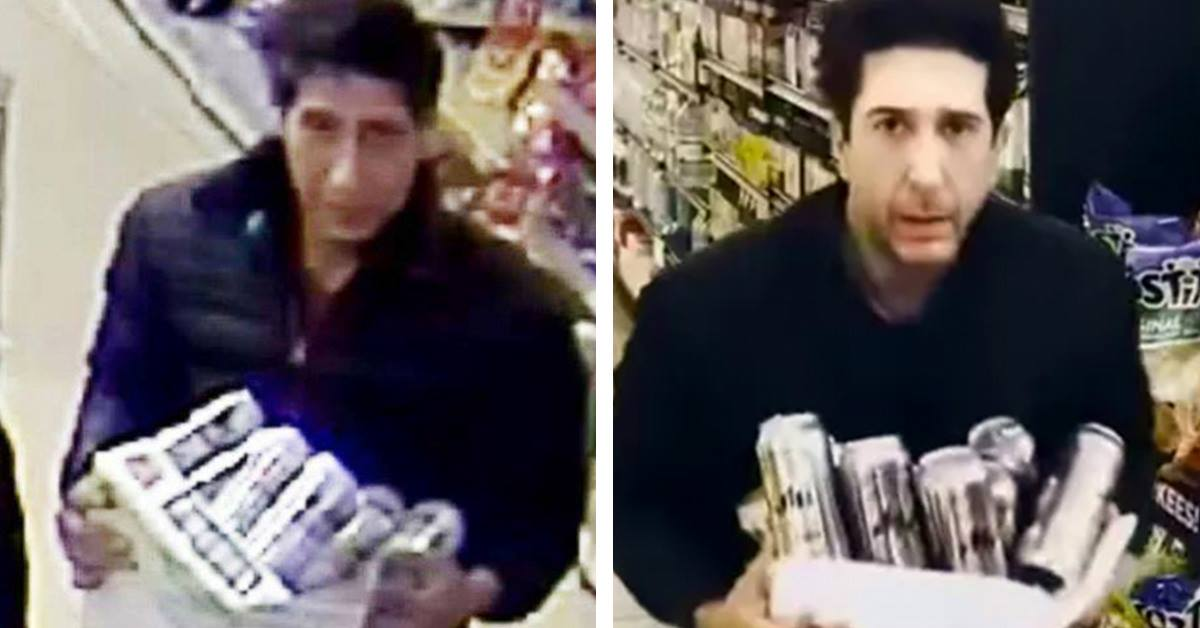"David Schwimmer Hilariously Tells Blackpool Police ""It Wasn't Me"" As The Search Goes On"