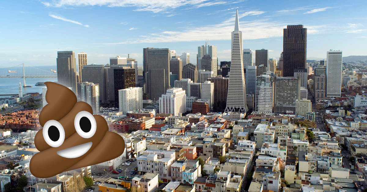 "San Francisco Dubbed ""Doo-Doo Capital Of USA"" Amid Human Poop Epidemic"