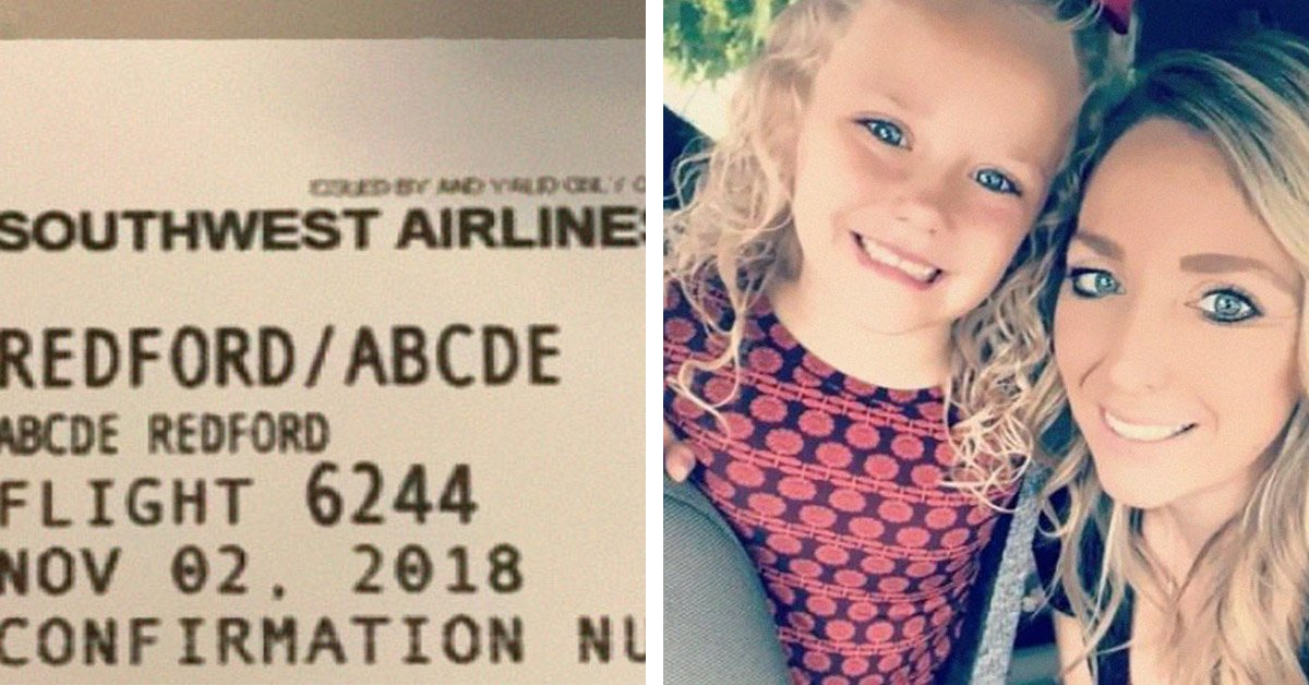 Mom Accuses Airline Of Making Fun Of Her 5 Y-O Daughters Ridiculous Name