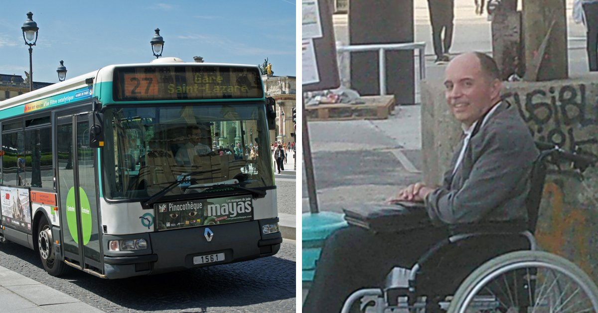 Bus Passengers Refuse To Move For Wheelchair User, So Driver Kicks Them All Off Except For Him