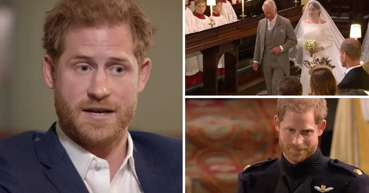 In New Documentary, Prince Harry Talks About Prince Charles Giving Meghan Away On Their Wedding Day