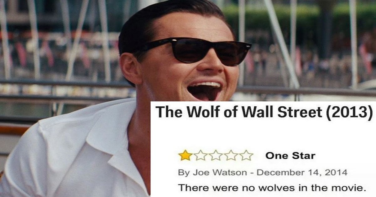 20 One-Star Amazon Movie Reviews That Are HILARIOUS