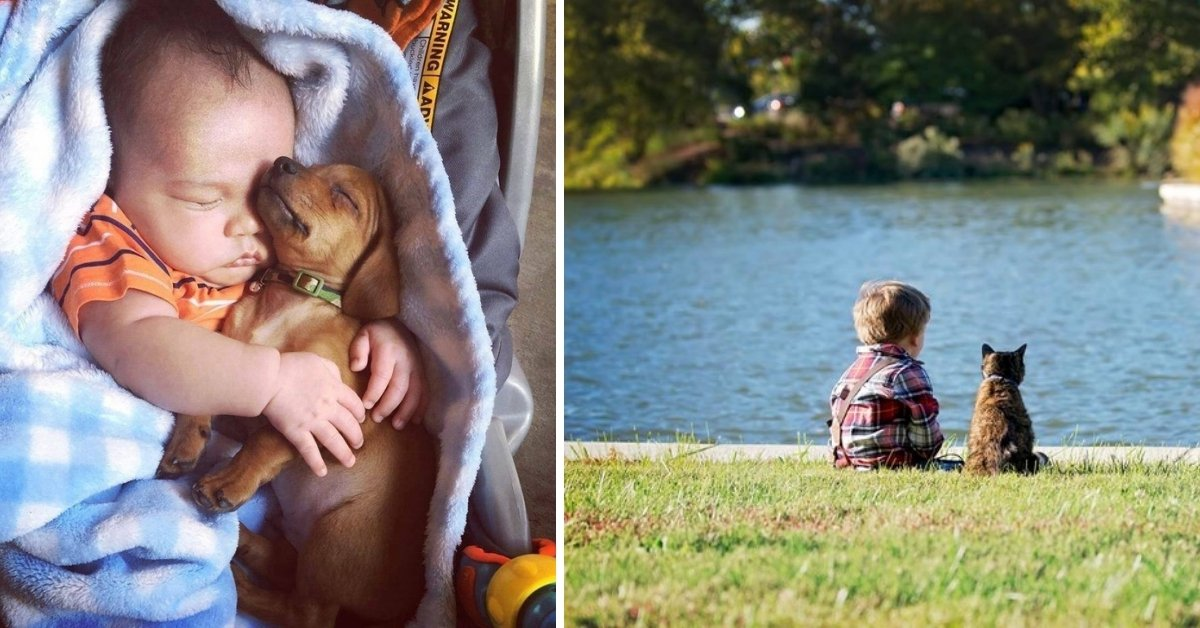 20 Photos That Show Why Every Child Should Have A Furbaby In Their Life