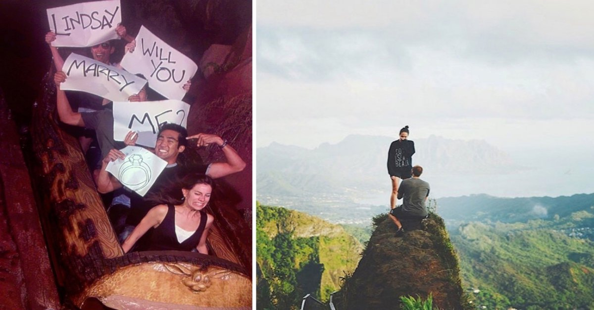 22 Amazingly Romantic Proposals You 100% Could Not Say No To