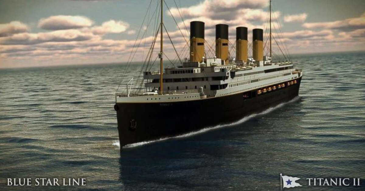 Full Replica Of The Titanic Will Set Sail In 2022, And Follow EXACT Same Route