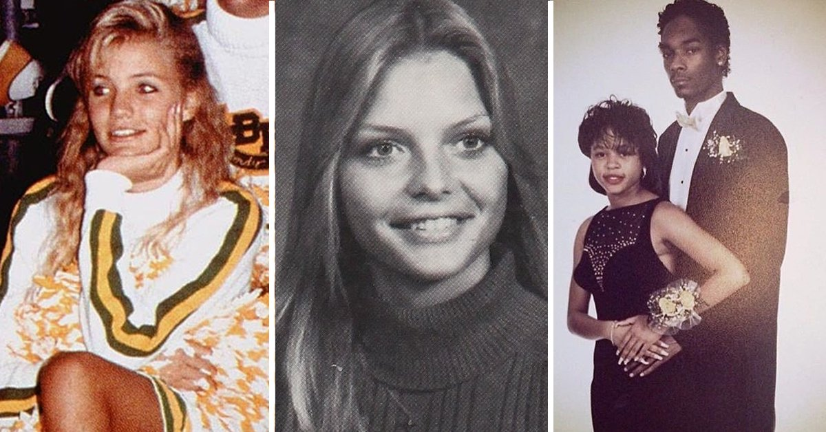 20 Amazing Photos Of Celebrities From Their Awkward High School Years