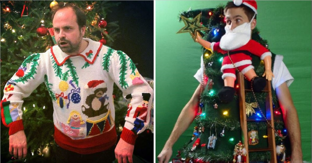 15 Of The Ugliest Christmas Sweaters Ever