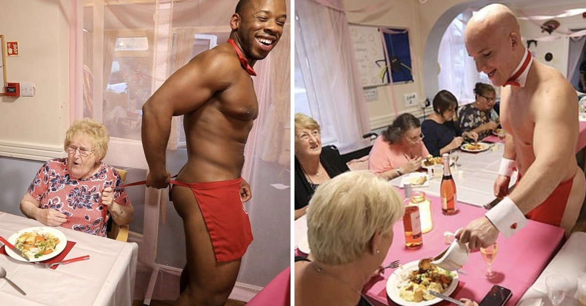 At Resident's Request, Retirement Home Hires Male Strippers To Serve Dinner