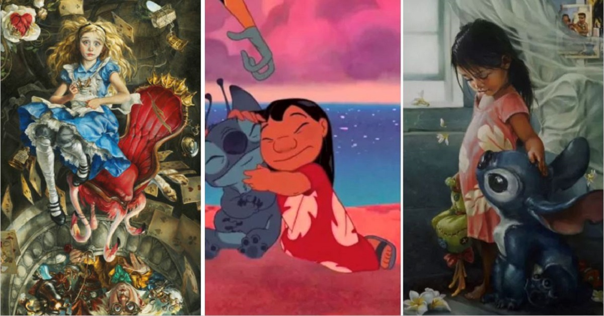 10+ Disney Characters Re-imagined As Oil Paintings