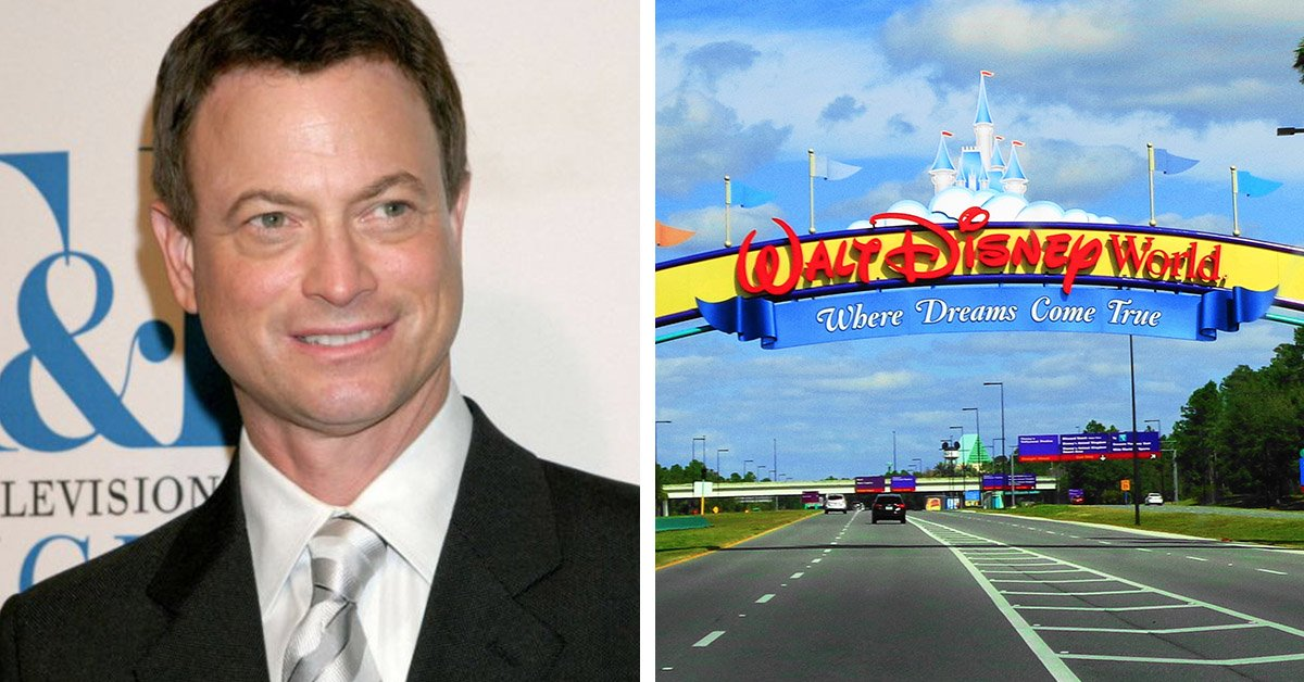 'Forrest Gump' Actor Gary Sinise Flies 1000 Gold Star Kids To Disney World For Christmas