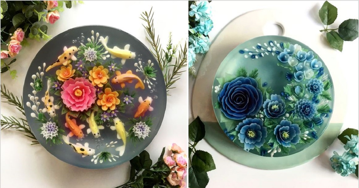 Amazing 3D Jelly Cakes That Will Blow Your Mind