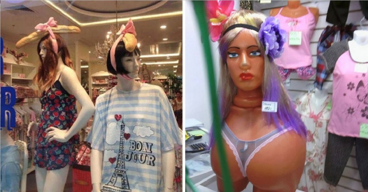 15 Mannequins That Are Hilarious AND Disturbing