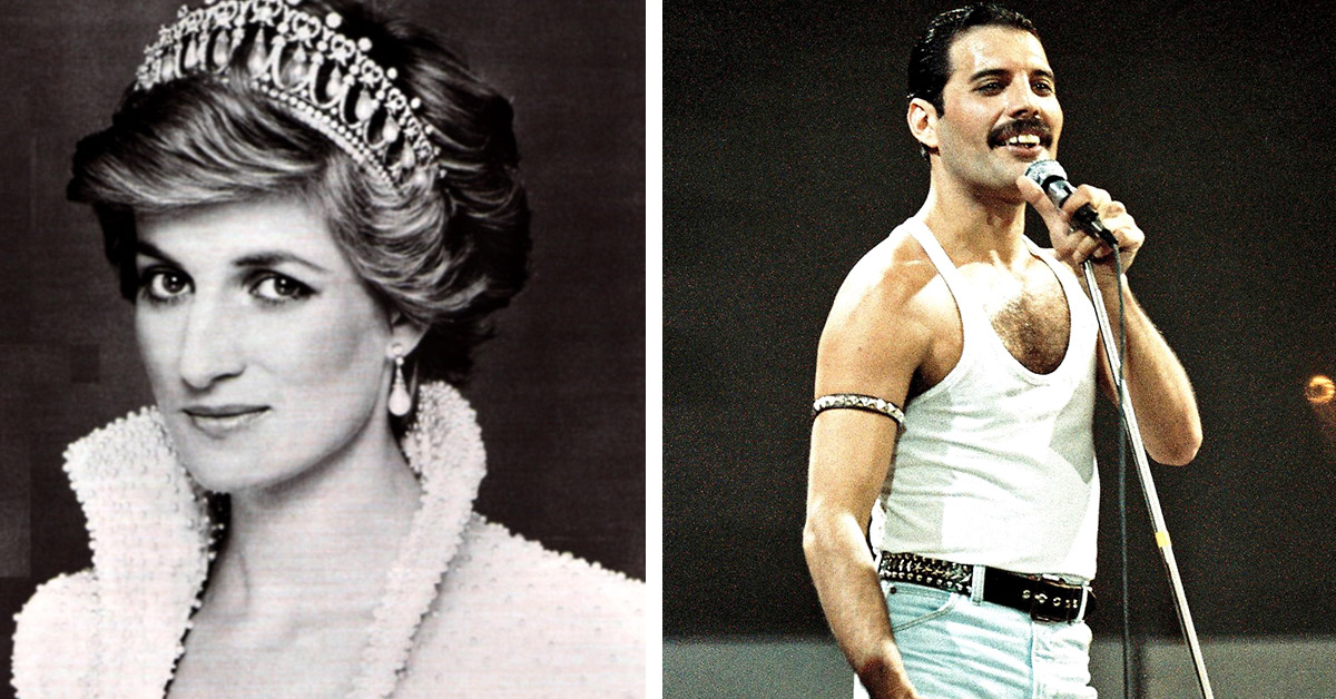 Princess Diana Dressed In Drag So She Could Party With Freddie Mercury