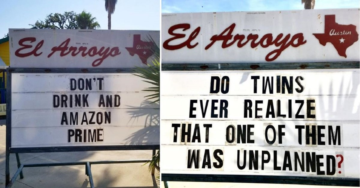 Texas Restaurant Is Putting Up Hilarious Signs That Are Just Too Good