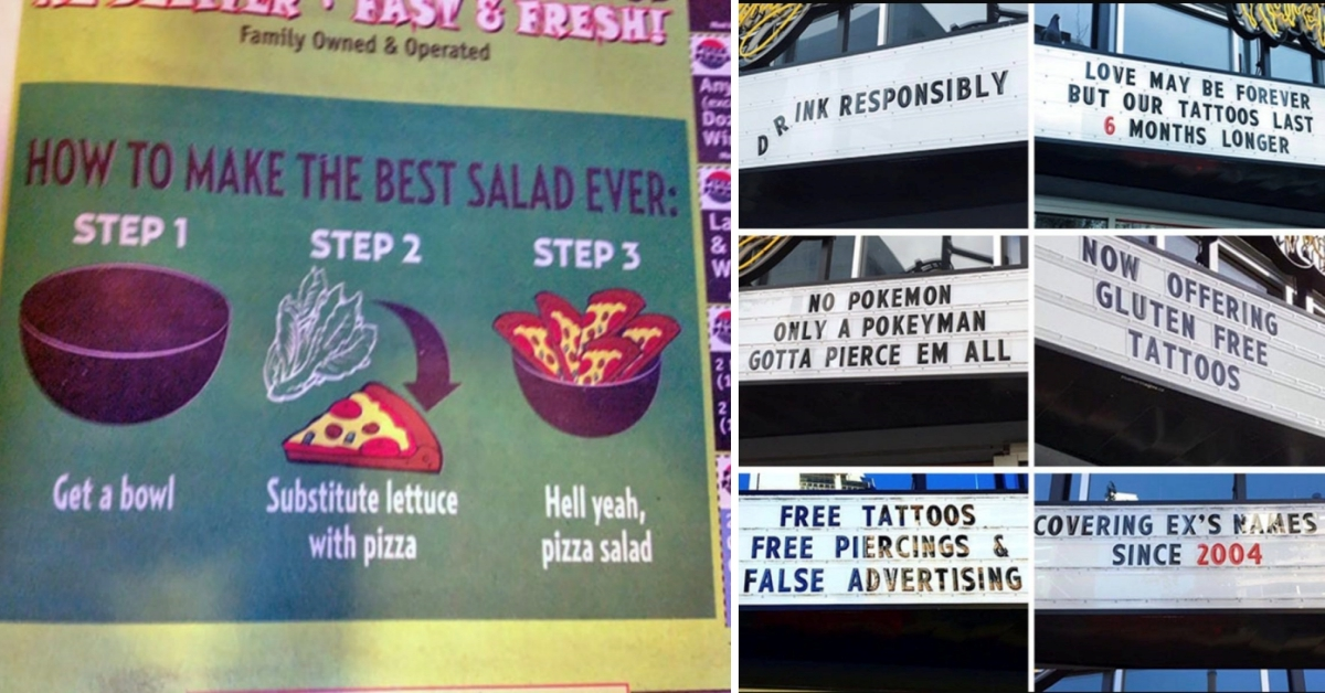 15 Businesses With The BEST Sense Of Humor!