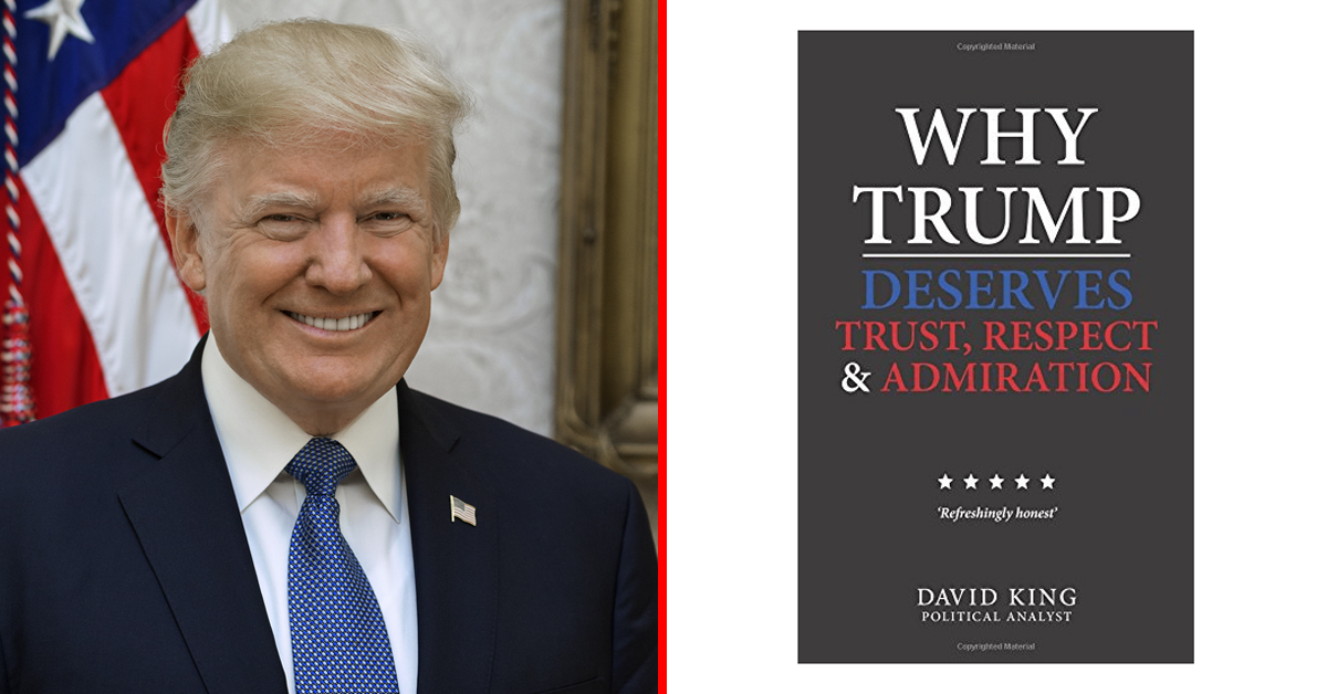 A Blank Book About President Trump Is Causing Controversy Online