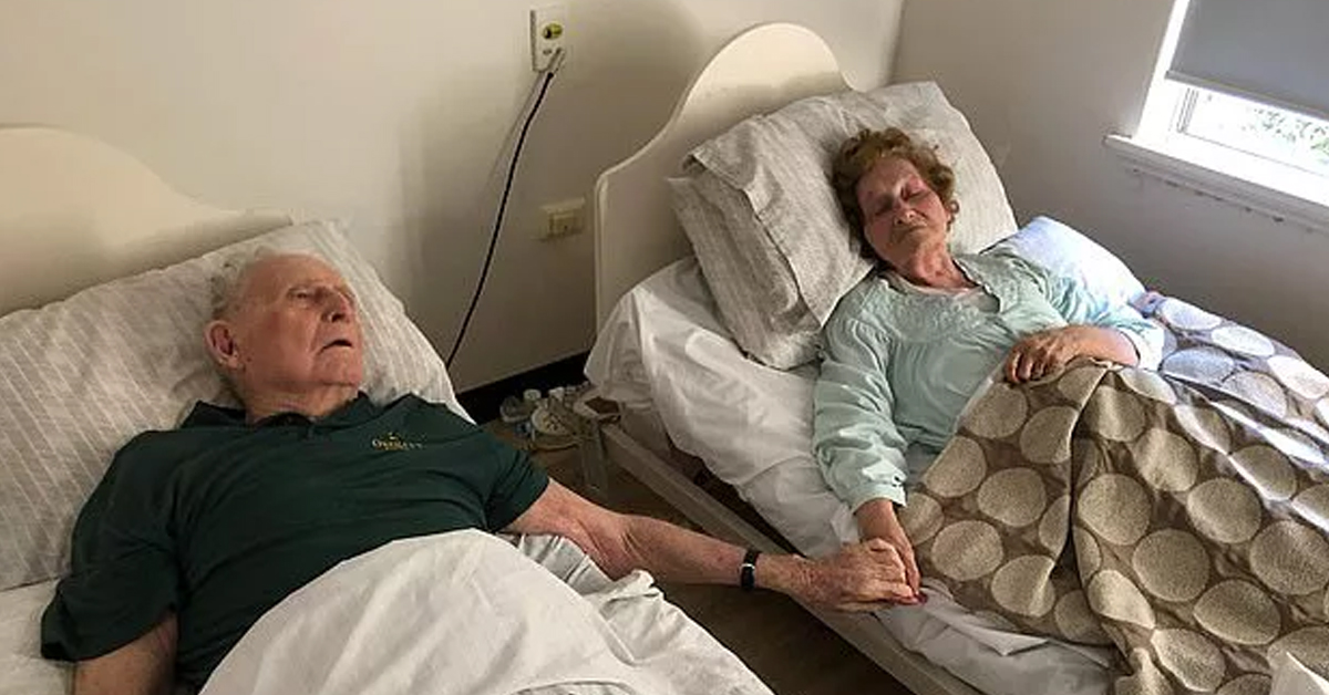 Husband And Wife Married For 70 Years Pass Away Together Within Just Minutes Of Each Other