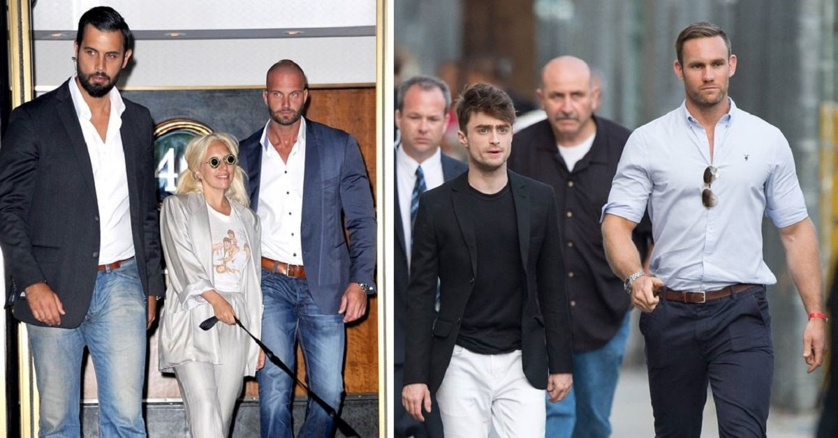 18 Celebrities Who Have VERY Attractive Bodyguards