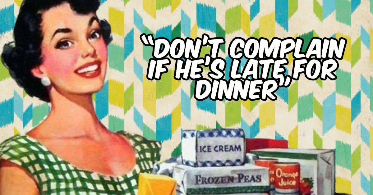 This 1950s List of Advice On Caring For Your Husband Has Resurfaced And Divided The Internet