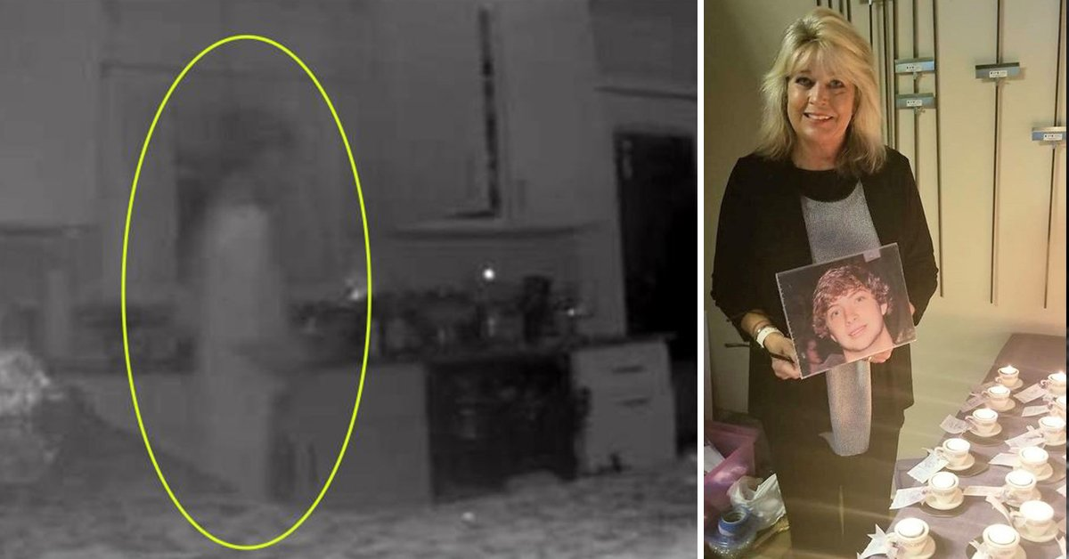 Grieving Mom Convinced That Home Security Camera Shows Ghost Of Her Son