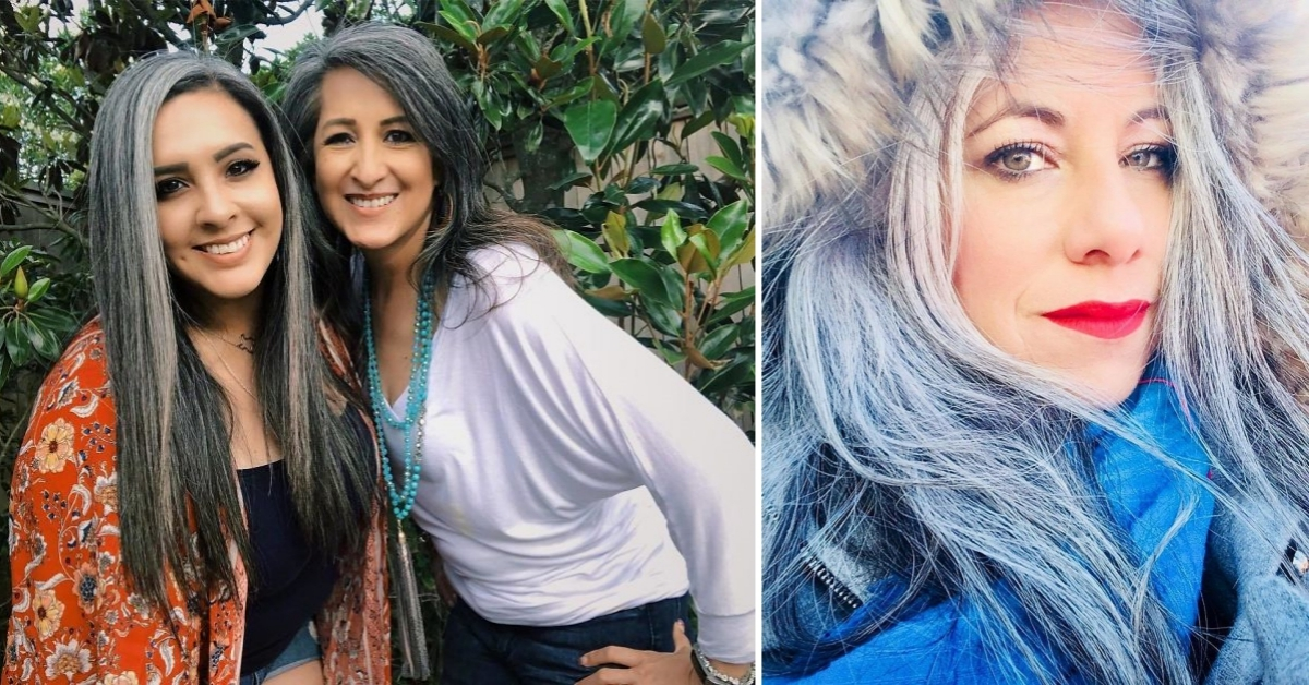 Want To Ditch The Hair Dye? Then Take Inspiration From These Beautiful Women!