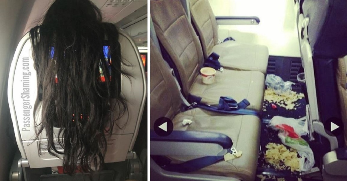 20 TERRIBLE Passengers That You Will Never Want To Sit Next To