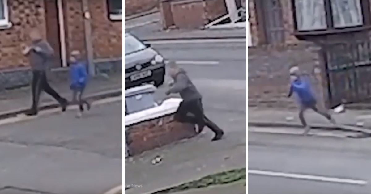 The Heartbreaking Moment A Puppy Is Stolen From A Young Boy In The Street