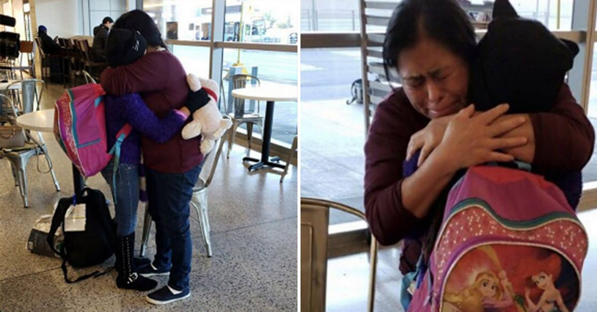 Woman Finally Reunited With Daughter After 246 Days Of Being Separated At Border  Copy