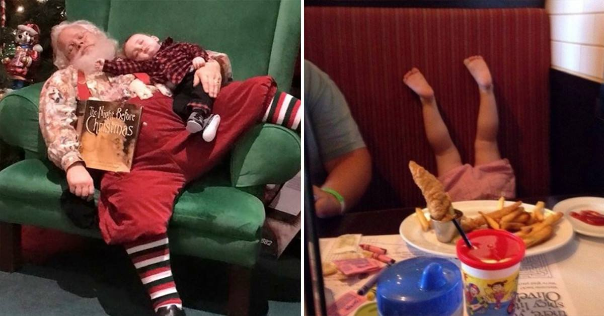 20 Photos That Prove Parenting Is Anything But Easy