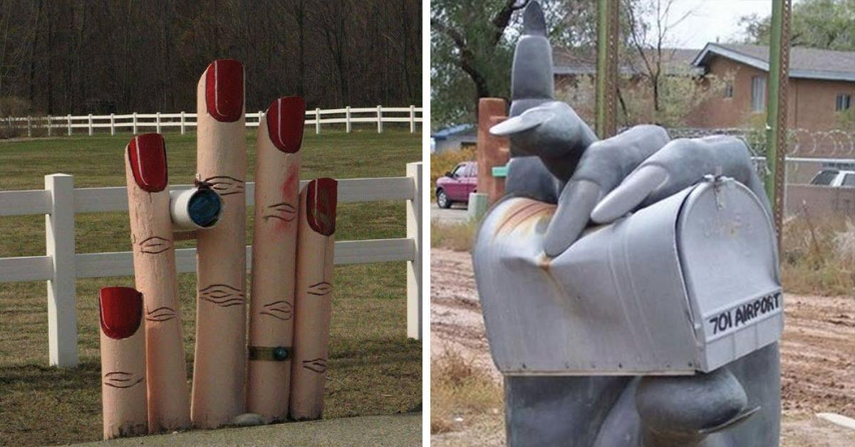 20 Crazy Mailboxes You'll Be Amazed Actually Exist