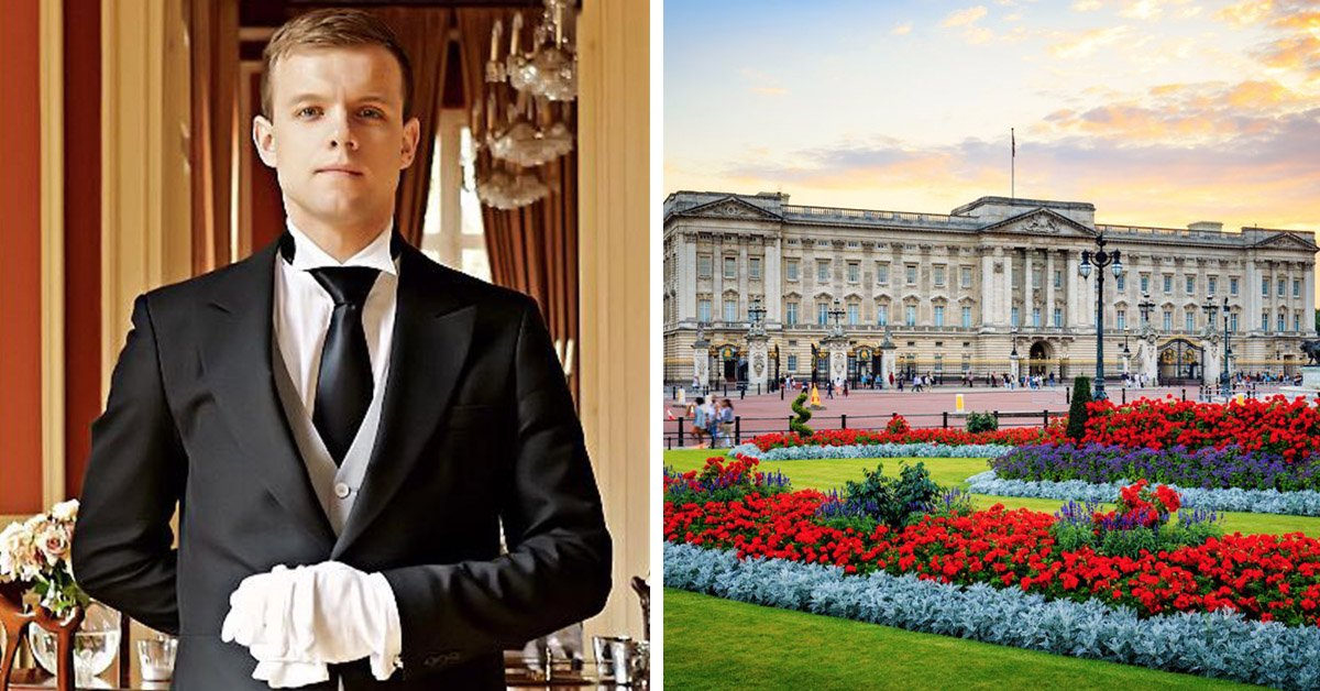 You Can Now Apply To Be A Trainee Butler At Buckingham Palace!