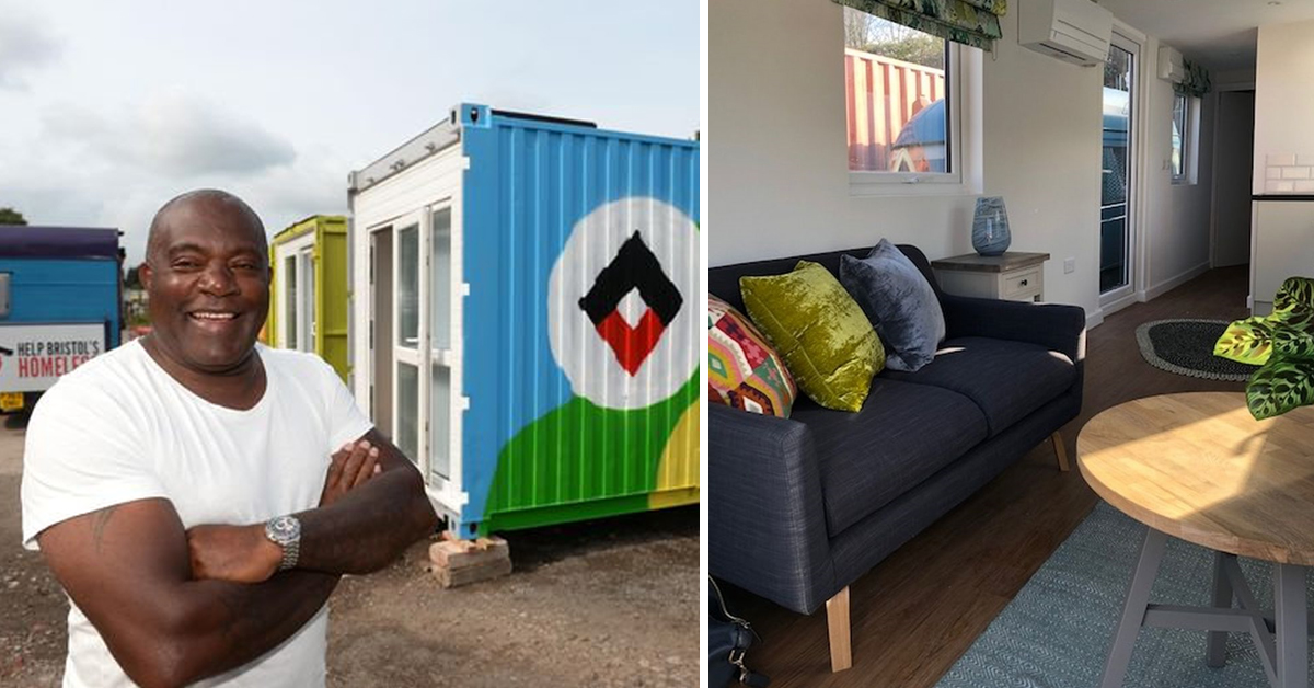 UK Town Converts Old Shipping Containers Into Accommodation For The Homeless