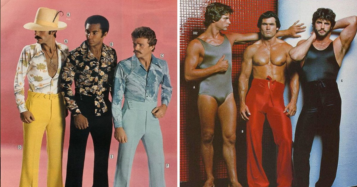 20 Photos That Show Why 1970's Men's Fashion Was Just Plain Awful