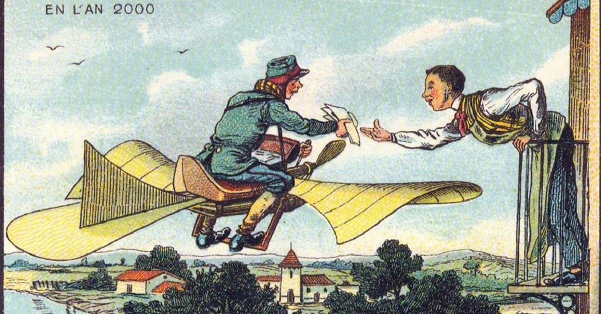 20 Comics Of How People Imagined The Future Hundreds Of Years Ago