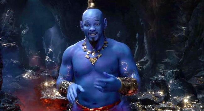 Will Smith Genie: Trailer For 'Aladdin' Remake Drops, Internet Responds
