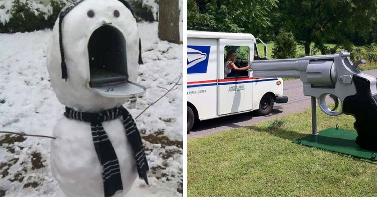 20 Crazy Mailboxes That You'll Have To See To Believe