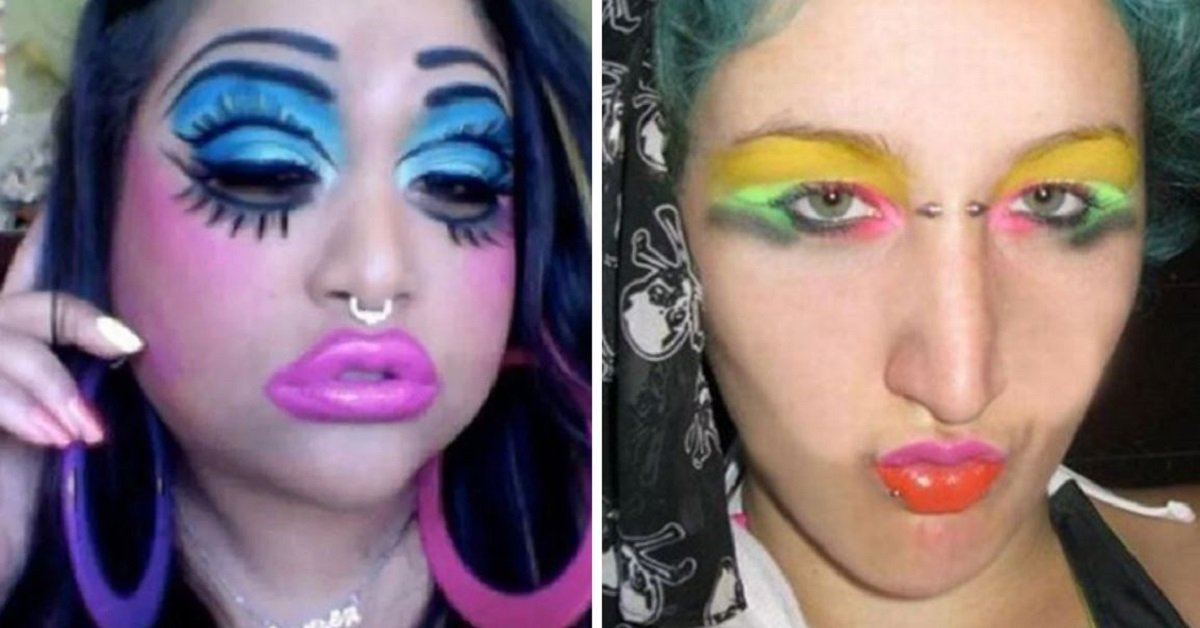 22 Makeup Fails That Will Haunt Your Nightmares