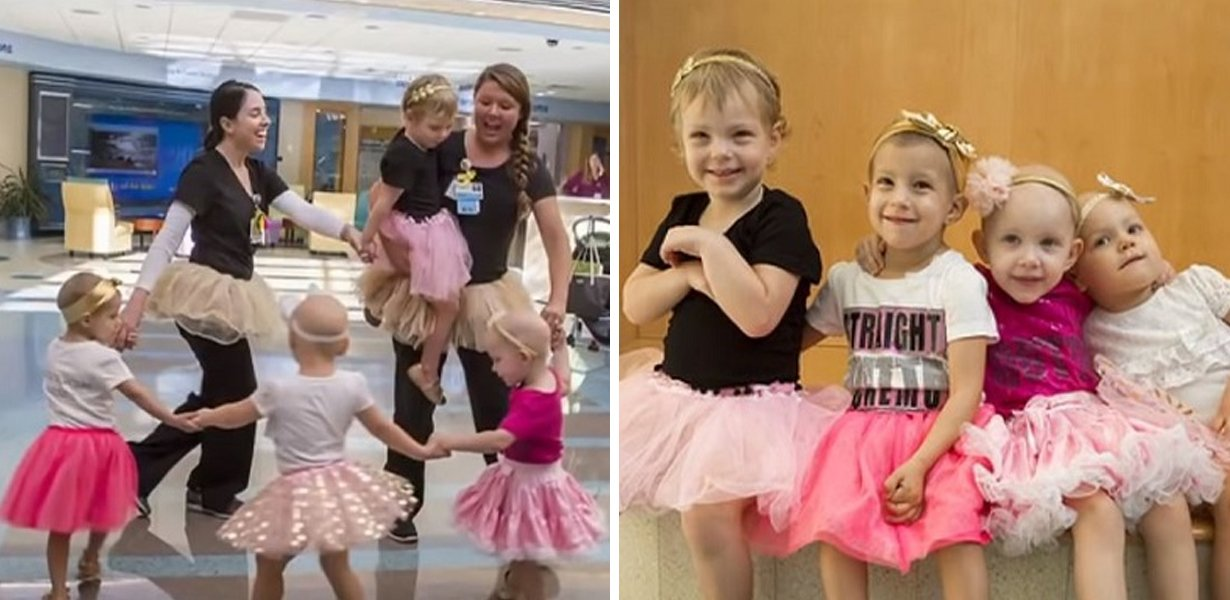 4 Best Friends Who Met As Tots In Hospital Reunite To Celebrate Beating Cancer